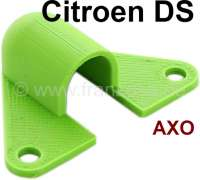 Dashboard light cap green (small). That is the cap for the indirect heater operation lights (mounts behind the diaphragm of the adjustment). Suitable for Citroen DS, up to year of construction 1974. For light manufacturer AXO. Made in Germany - 35633 - Der Franzose