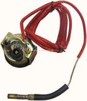 Water temperature display 120°C. Dial in black. Diameter: 52mm. Suitable for Citroen 11CV + 15CV. -1 - 60103 - Der Franzose