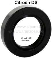 Camshaft seal, suitable for Citroen DS. Dimension: 29x46x10. Made in Germany. | 30011 | Der Franzose - www.franzose.de