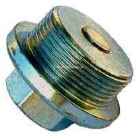 Oil drain screw magnetically, for an oil pan out of sheet metal. Suitable for Citroen 11CV with PERFO engine + Citroen 15CV. Dimension: 31x150 | 60121 | Der Franzose - www.franzose.de