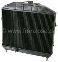 Radiator (in the exchange), suitable for Citroen HY petrol, to year of construction 1958. Made in Germany. The radiator is completely dismantled and cleaned. Radiator glass blasting, radiator core renew, radiators checked for tightness and radiators completely painted. Plus 250 Euro Old part deposit. -1 - 48339 - Der Franzose