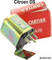 Relay (original) for auxiliary fans and/or air condition. Suitable for Citroen DS. The relay is an original