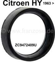 Rubber (seal) down at the water pump. Transition to the water pipe at the cylinder head. Suitable for Citroen HY, starting from year of construction 09/1963. Or. No. ZC9472409U | 48150 | Der Franzose - www.franzose.de