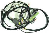 Cable harness for the fuel injection system. Body-laterally (electronic control module). 1 plug, white. 12 connections. Suitable for Citroen DS IE, starting from year of construction 04/1971 (with air temperature sensor). | 34014 | Der Franzose - www.franzose.de