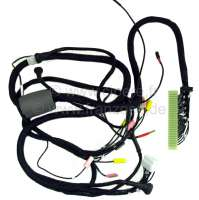 Cable harness for the fuel injection system. Body-laterally (electronic control module). 1 plug, white. 12 connections. Suitable for Citroen DS IE, to year of construction 04/1971 (without air temperature sensor). Made in Germany. - 34015 - Der Franzose