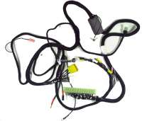 Cable harness for the fuel injection system. Body-side (electronic control module). 2 plugs, white + yellow. 6 connections each. Suitable for Citroen DS IE, up to year of construction 04/1971 (without air temperature sensor). Made in Germany. - 34021 - Der Franzose