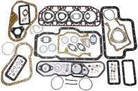 P 404/504/HY, engine gasket set Indenor Diesel XDP88. Bore 94mm. Suitable for Citroen HY Diesel + Peugeot 404 D + 504 D. Without shaft seals | 40002 | Der Franzose - www.franzose.de