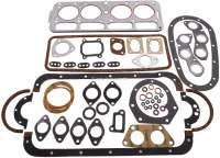 Engine gasket set completely (inclusive. Cylinder head gasket). Manufacturer original