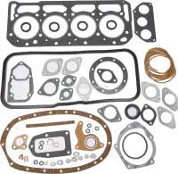 Engine gasket set inclusive cylinder head gasket, suitable for Citroen DS 21 (engine DX2), Installed to year of construction 1975. The engine gasket set is supplied without shaft seals. Bore: 90,0mm. | 30008 | Der Franzose - www.franzose.de
