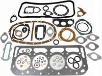 Engine gasket set inclusive cylinder head gasket, suitable for Citroen DS20, DS21, ID19B, ID20, ID20F, ID21F (engine DV3, DY3, DX). The engine gasket set is supplied without shaft seals. For bore: 86,0mm + 90,0mm. | 30009 | Der Franzose - www.franzose.de