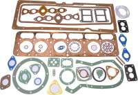 Engine gasket set, inclusive cylinder head gasket. Suitable for Citroen 15CV. | 60750 | Der Franzose - www.franzose.de