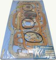 Engine gasket set (inclusive cylinder head gasket) Indenor Diesel. For engine: TMD85, XDP85, TMD85-AD, XPD (1816cc). Suitable for Citroen HY Diesel. Peugeot of 403 Diesel, 404 Diesel, 504 Diesel, J7 Diesel. Without shaft seals. Or. No. 0198.24 -1 - 71131 - Der Franzose
