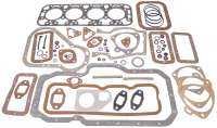 Engine gasket set (inclusive cylinder head gasket) Indenor Diesel. For engine: TMD85, XDP85, TMD85-AD, XPD (1816cc). Suitable for Citroen HY Diesel. Peugeot of 403 Diesel, 404 Diesel, 504 Diesel, J7 Diesel. Without shaft seals. Or. No. 0198.24 | 71131 | Der Franzose - www.franzose.de