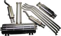 SM, exhaust from high-grade steel. Suitable for Citroen SM. Without mounting material. - 32290 - Der Franzose