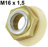 Ball joint nut. Suitable for Citroen DS + Citroen SM. Dimension: M16 x 150. Or.Nr. ZC9615752U - 30179 - Der Franzose