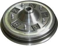 Brake drum in front (new part). Suitable for Citroen 11CV. Or. No. 441315 | 60565 | Der Franzose - www.franzose.de