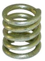 Pressure spring laterally, for the brake shoes (in front + rear). Suitable for Citroen 11CV. Dimension: 10.5 x 13mm. Or. No. 441332. Per piece | 60436 | Der Franzose - www.franzose.de