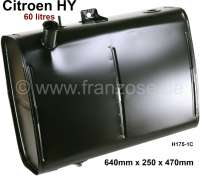 Fuel+tank+60+liters.+Suitable+for+Citroen+HY%2C+all+years+of+construction.+Length%3A+640mm.+Wide+one%3A+250mm.+Height%3A+470mm.+Good+reproduction.+Or.+No.+H175-1C.+The+tank+is+made+of+zinc+coated+sheet+metal.