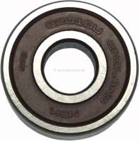 Bearing rear, for the generator Paris Rhone, 12Volt. Suitable for Citroen HY. Dimension: 12.0 x 32.0 x 10,0mm. Or. No. ZC9620316U - 48069 - Der Franzose