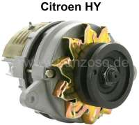 Generator, in the exchange (for external battery charging regulator). Suitable for Citroen HY. 12 V, 40 ampere. Alternating current. Plus 150 Euro Old part deposit. | 48067 | Der Franzose - www.franzose.de