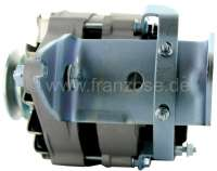 Generator new part (alternating current). 12 V, 70 ampere. Suitable for Citroen DS, starting from year of construction 1967. The generator has a battery charging regulator. -1 - 32400 - Der Franzose