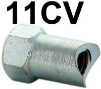 Adjusting nut for the hand brake cable. Suitable for Citroen 11CV + 15CV. Or. No. 88199 | 60441 | Der Franzose - www.franzose.de