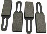 SM, parking brake pads. Suitable for Citroen SM, of year of construction 1970 to 1975. Or. No. 1S5403827A | 34609 | Der Franzose - www.franzose.de