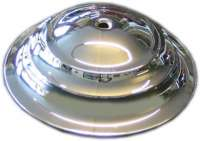 Wheel cover chromium-plates. Suitable for Citroen 15CV, starting from year of construction 04/1948. Dimension: 264 x 80mm. Or. No. 810347 | 60304 | Der Franzose - www.franzose.de