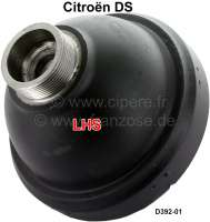 Accumulator ball, screwed. Hydraulic system LHS. In the exchange. Suitable for Citroen DS. Or. No. D392-01. Plus 100 Euro Old part deposit. | 32120 | Der Franzose - www.franzose.de
