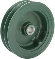 Hydraulic pump belt pulley, for 2 V-belts. Suitable for Citroen DS (LHM + LHS). Manual gear box (bvm). Or. No. DF391-13. Made by Franzose / CiPeRe -2 - 31330 - Der Franzose