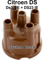 Bosch, distributor cap system Bosch. Suitable for Citroen DS21 + DS23 IE. Depending on availability, the distribution cap is supplied from another brand manufacturer. - 34069 - Der Franzose