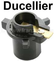 Ducellier, distribution arm, original manufacturer. Suitable for Citroen DS starting from year of construction 9/1972, CX to 1980, HY. Renault R4GTL, R5, R16. Peugeot 204, 304S, 404, 504. Version D216. Length over everything: 46mm. Height over everything: 36mm. Inside diameter: 15mm. | 34031 | Der Franzose - www.franzose.de