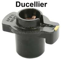 Ducellier, distributor arm, suitable for distributor cap 34034. Citroen DS + CX. Renault R4, Estafette, Renault rear engines. Peugeot 403, 404, 504, 304.  Distributor number 2388 Ducellier. Original supplier! Length over everything: 47mm. Height over everything: 35mm. Inside diameter: 14mm. - 32314 - Der Franzose