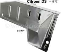 Exhaust elbow heat protection shield, without outlet for preheating. Suitable for Citroen DS, to year of construction 1972. Or. No. DS18114 | 31004 | Der Franzose - www.franzose.de