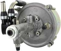 Hydrovac brake booster universal. Large version 7 inch. Single  circuit brake system brake assembly. To re-tooling classic cars with a  brake booster and/or as substitute for no longer supplyable brake  boosters. A vacuum can be achieved with our electrical pumps! 2 threads for hydraulic port (1/2 x 20 UNF). The suitable pilot adapter of 1/2 on 3/8 UNF has our number 74561 + 74565. Made in Spain. -1 - 74505 - Der Franzose