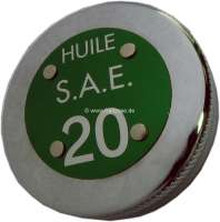 Oil-fill in cap, chromium-plates. Suitable for Citroen 11CV D engine. Citroen HY + Citroen DS19. - 60791 - Der Franzose