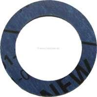 Oil pump grain sieve seal. Suitable for Citroen ID19. Citroen 11CV + 15CV. Citroen HY. Dimension: 42x29mm. Or. No. 453117 - 31215 - Der Franzose
