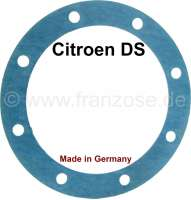 Oil filter seal (for the locking cap), heavy version. Suitable for Citroen DS. Often the cap for the oil filter twisted something. There the heavier seal is the better recommendation! Made in Germany. - 30084 - Der Franzose