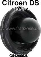 Dust cap for the steel brake valve. Suitable for Citroen DS, starting from year of construction 1971. Or. No. 5420552 - 33016 - Der Franzose