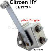 Stop light switch. Suitable for Citroen HY, to year of construction 01/1973. Original one, no reproduction (NOS). Or. No. HG576-02 - 44011 - Der Franzose