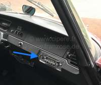 Radio Becker Monza with screen, for old dashboard Citroen DS, technically + optically outdated, 12 months guarantee, wide one 160mm, height of 44mm -2 - 18500 - Der Franzose
