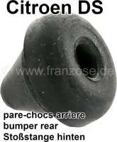 Fender rear, rubber buffer to the bumper. The rubber buffer is mounted at the bumper. Suitable for Citroen DS sedan. Or. No. 1A5416420F - 36540 - Der Franzose
