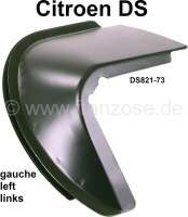 Rear end panel, repair sheet metal under that rear left fender (ear on the left). Suitable for Citroen DS sedan. Or. No. DS821-73 - 35182 - Der Franzose