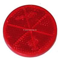 Reflector in the rear light. Suitable for Citroen 11CV + 15CV, starting from year of construction 07/1952. Diameter: 60mm. Or. No. 706304 - 60095 - Der Franzose
