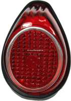 Taillight cap on the right (without fixture). Suitable for Citroen 11CV/15CV, starting from year of construction 07/1952. Or. Nr.706611C - 60504 - Der Franzose