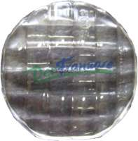 Turn signal cap, clear, rear. Suitable for Citroen DS sedan. Very high-quality reproduction. - 34057 - Der Franzose