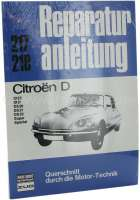 Repair manual Citroën DS, 135 pages. Language German. | 38207 | Der Franzose - www.franzose.de