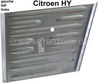 Repair sheet metal, for the side plate in front on the left (headlight mounting). Suitable for Citroen HY. - 48166 - Der Franzose