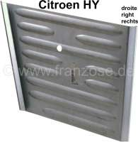 Repair sheet metal, for the side plate in front on the right (headlight mounting). Suitable for Citroen HY. -1 - 48167 - Der Franzose