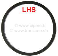 Sphere (suspension ball) sealing ring, for hydraulic system LHS. Suitable for Citroen DS. Dimension: 38x43mm. Or. No. D43390 - 32148 - Der Franzose
